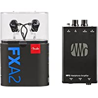 Fender MXA2 Bundle with FXA2 Pro In-Ear Monitors & PreSonus HP2 Headphone Amplifier + 3-Month Fender Play