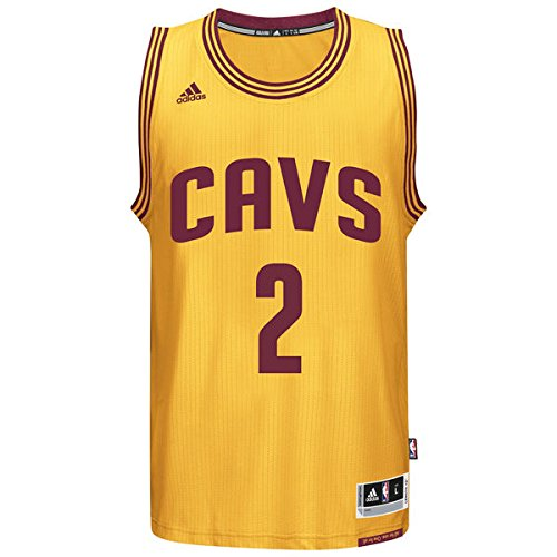 Cleveland Cavaliers Kyrie Irving Adidas Swingman Gold Alternate Jersey  30%OFF 5875739b8