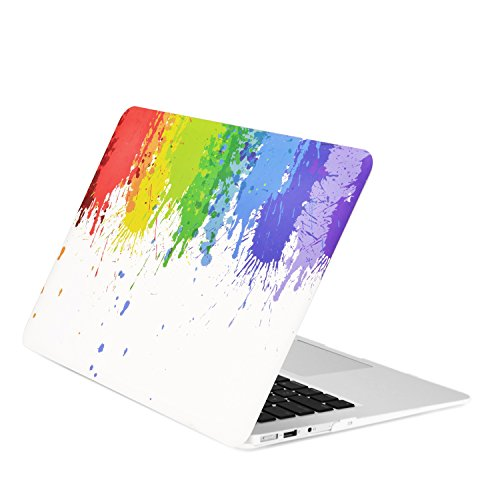 TOP CASE 13 Inch Rubberized MacBook