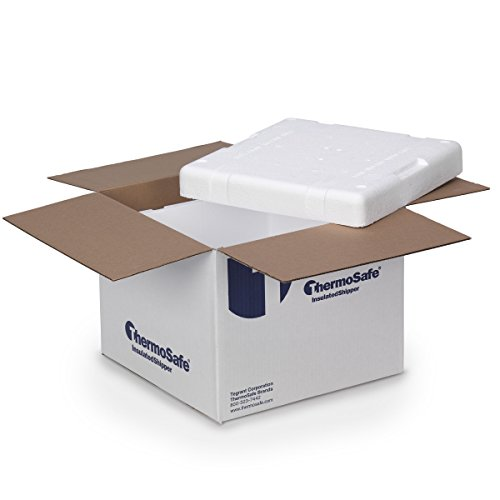 Thermosafe 326 Cold Insulated Shipping Box Container Kit (6 Pack) by Thermosafe