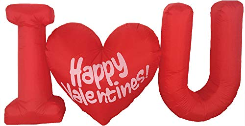 Morris Inflatable Valentines Day LED Decoration ()