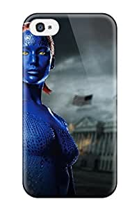 New ThomasSFletcher Super Strong Mystique Played By Jennifer Lawrence Tpu Case Cover For Iphone 4/4s