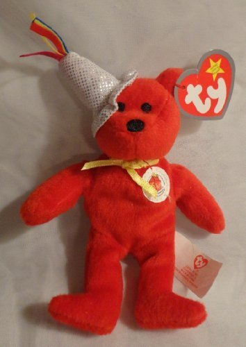 Mcdonalds Teenie Beanie Babies (TY McDonald's Teenie Beanie - #1 HAPPY MEAL 25th the Bear (2004))