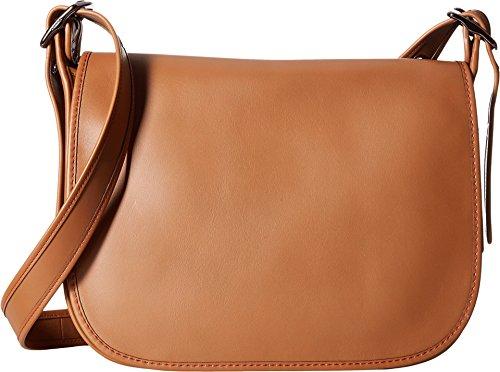 COACH Womens Gloveton Leather Saddle