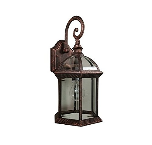 Trans Globe Lighting 4181 BC Outdoor Wentworth 15.75'' Wall Lantern, Black Copper by Trans Globe Lighting