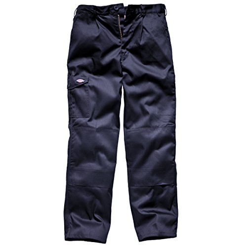 Dickies Mens Super Work Trousers (Short Leg) (36in Waist) (Navy (36 Leg Trousers)