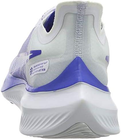 Nike Men's Zoom Gravity Running Shoe (10, White/Blue)