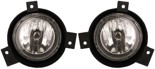 Ford Ranger 01-03 Driving Fog Lights - Left & Right Lamps Pair (Driving Light Set)