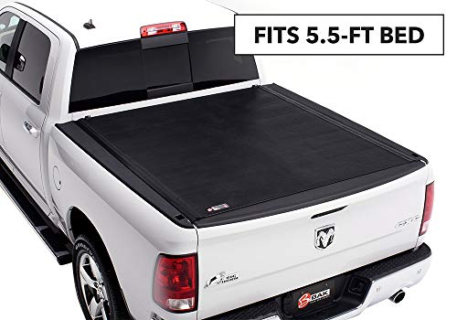 (BAK Revolver X2 Hard Rolling Truck Bed Tonneau Cover | 39207RB | fits 2009-19 Dodge Ram With Ram Box 5' 7