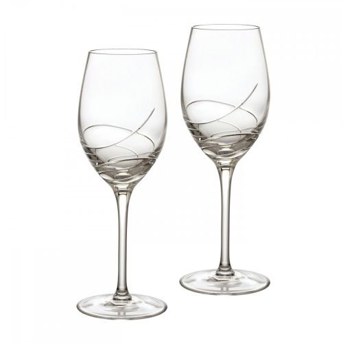 Waterford Ballet Ribbon Essence White Wine Pair by Waterford  Crystal