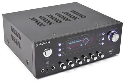 Skytronic 103.206 - Amplificador con entrada micros