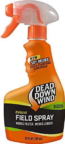 Dead Down Wind Evolve Field Spray – 24oz, Natural, Broad-Spectrum, Odor-Eliminating Hunting Spray