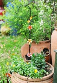 ecotrellis Juego de Metal jardín decoración jardín maceta juego ...