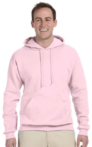 JERZEES Mens NuBlend Pullover Hooded Sweatshirt, Medium, Cla