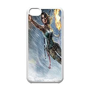 iPhone 5C Phone Case Tomb Raider Lara Croft P78K789416