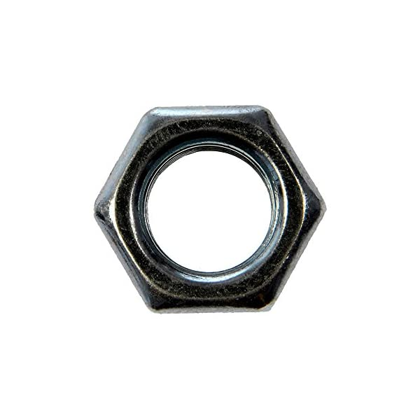 "500 18 NC Hex Nut Grade 5 Center Lock /& Non Locking Nuts Mixed 5//16/"" Zinc Pl"