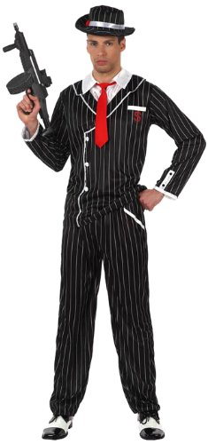 LIBROLANDIA - Disfraz de gánster para niño, talla M/L (10290 ...