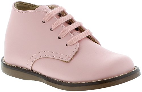 FootMates Baby Girl's Tina 2 (Infant/Toddler) Pink Oxford 3 Infant (First Oxford)