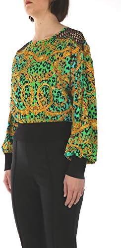 VERSACE JEANS COUTURE D3HVA653S0637 Long Sleeve Women Mint 46