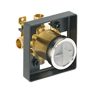 delta faucet r10000 unbxhf multichoice universal shower only valve body rough plumbing amazon. Black Bedroom Furniture Sets. Home Design Ideas