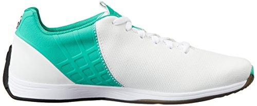 Puma Mamgp Evospeed Next - Zapatillas de Deporte de material sintético hombre Blanco - Blanc (White/Silver/Spectra Green)