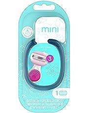 Venus Mini On the go Women's Razor With ComfortGlide White Tea Scent - 1 Handle + 1 Refill + 1 Case, 1 Count