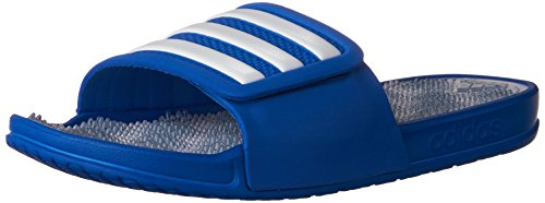 Women's 2 Footwear Tactile 0 Slides Adissage Blue adidas Stripes Blue White ZAgwqaxgpd