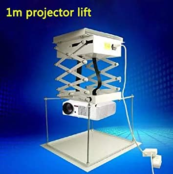 Ochoos 1M Soporte de Proyector Motorizado Eléctrico Tijeras de ...