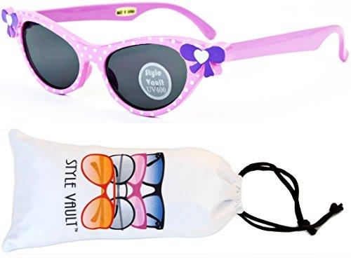 Kd3009-vp Style Vault 2~7 Years Old Girls Cateye Sunglasses (B1466F - Year Old 5 Sunglasses