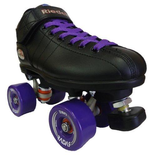 Riedell R3 Zen Purple Outdoor Speed Skates - R3 Zen Roller Derby Skate