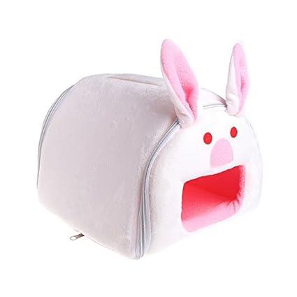 Amazon.com: LANDUM Pet Cat Hamster House Warm Winter Soft ... on football rabbits, cold war rabbits, pets rabbits, six rabbits, green rabbits, racing rabbits, black rabbits, babies rabbits,