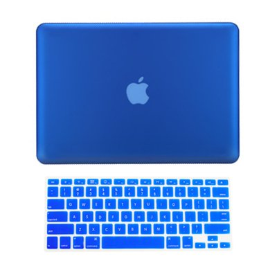 TopCase® 2 in 1 Rubberized ROYAL BLUE Hard Case Cover and Keyboard Cover for Macbook Pro 13-inch 13″ (A1278/with or without Thunderbolt) with TopCase® Mouse Pad, Best Gadgets