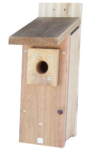 Stovall 1H Chickadee and Wren House Post Mounted, Large