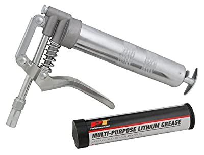 Performance Tool W54205 Mini Grease Gun Kit with Grease