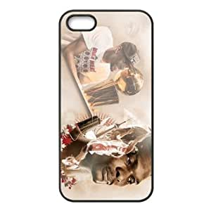 Miami Heat Chris Bosh Image Theme Back Hard shell For Iphone 4/4S Case Cover -by Allthingsbasketball