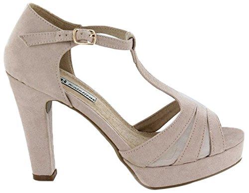 XTI Zapato Sra. Antelina Nude - Zapato para mujer  Amazon.es  Zapatos y  complementos 125ef663b3f