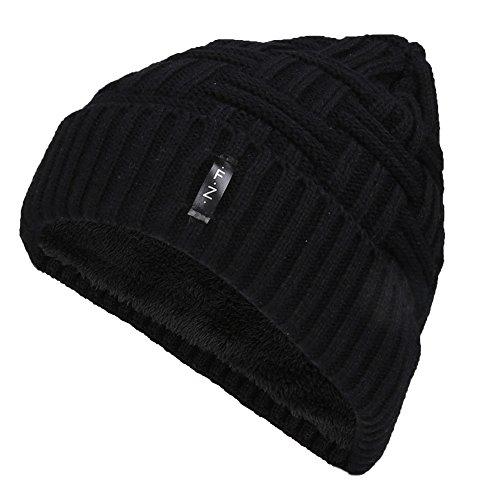 Fantastic Zone Men Women Winter Knit Wool Warm Skull Beanie Hat Cap for Men and Women