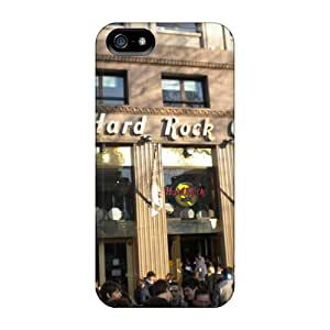 New Arrival Iphone 5/5s Case Hard Rock Cafe Case Cover