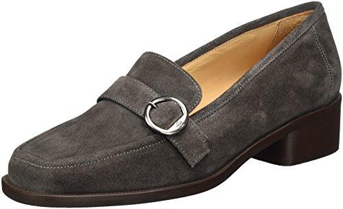 Marc OPolo Damen Mid Heel Loafer 70714142201303 Slipper Grau (Grey)