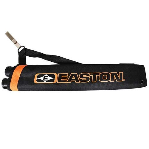 Easton Flipside 2-Tube Hip Quiver, Black, Left/Right