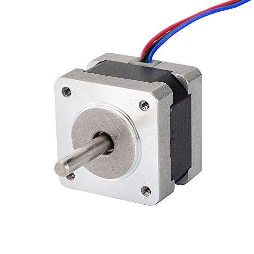 Nema 14 Stepper Motor 0.9deg(400 steps/rev) 0.4A 11Ncm/15.6oz.in Bipolar 4-wires by STEPPERONLINE