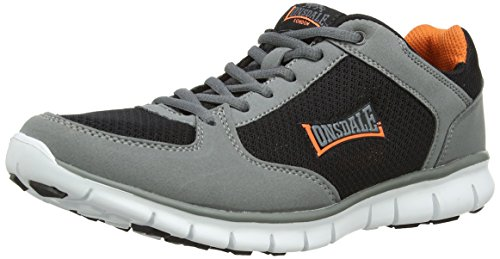 Lonsdale Shearwater Herren Multisport Outdoor Grey (Grey/Navy/Blue)