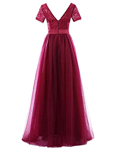 Violett Leader Gr Kleid Beauty the 40 Damen of Arw0ARq