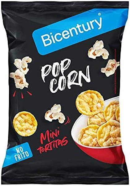 Bicentury Pop Corn Jordi Cruz Tortitas de Maíz Mini, Sabor Pop ...