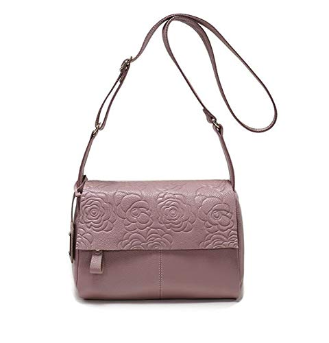 Bag Hongge Shoulder B Single Leather Bag Cowhide Bag Span Female Simple Printing Oblique EwE8xqr7