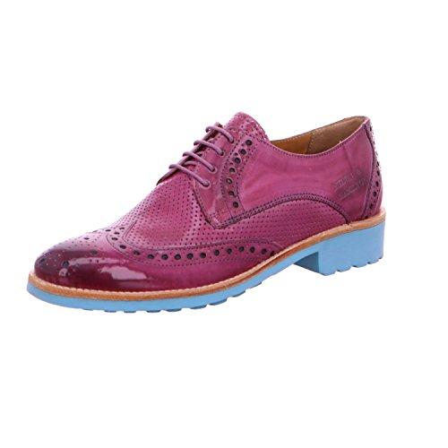 amp; de Lacets Melvin à Ville Hamilton Pour Chaussures Rouge Femme 6dSxawqF