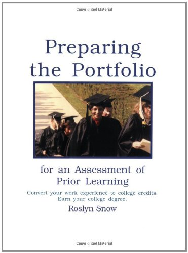 Preparing the Portfolio for an Assessment of Prior Learning