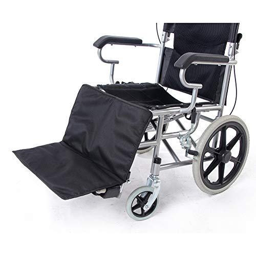 Universal Wheelchair Leg Rest Pad, Heavy Duty Thicken Wheelchair Footrest Extender, Comfortable Wheelchair Low Profile Leg Cushion ZYH522