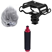 Movo AEK-Z4 Accessory Kit for the Zoom H2n, H4n, H5, H6,...