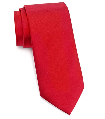 Donald J. Trump Signature Red Neck Tie with Presidential Seal by Presidential Gifts (Image #1)